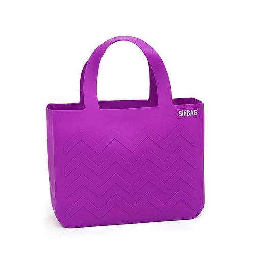 SiliBAG-mini Wave|Neon Purple