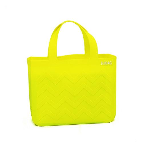 SiliBAG-mini Wave|Neon Yellow