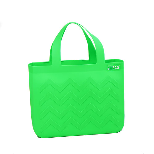 SiliBAG-mini Wave|Neon Green