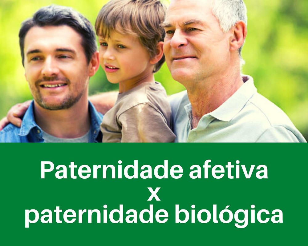Paternidade afetiva x paternidade biológica. Contrate um advogado para resolver suas questões familiares aqui.