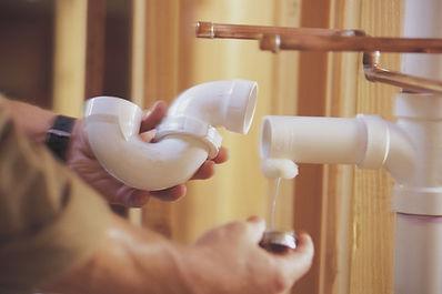 Pipe repair, dripping pipe