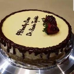Mascarpone cheese cake - birthday