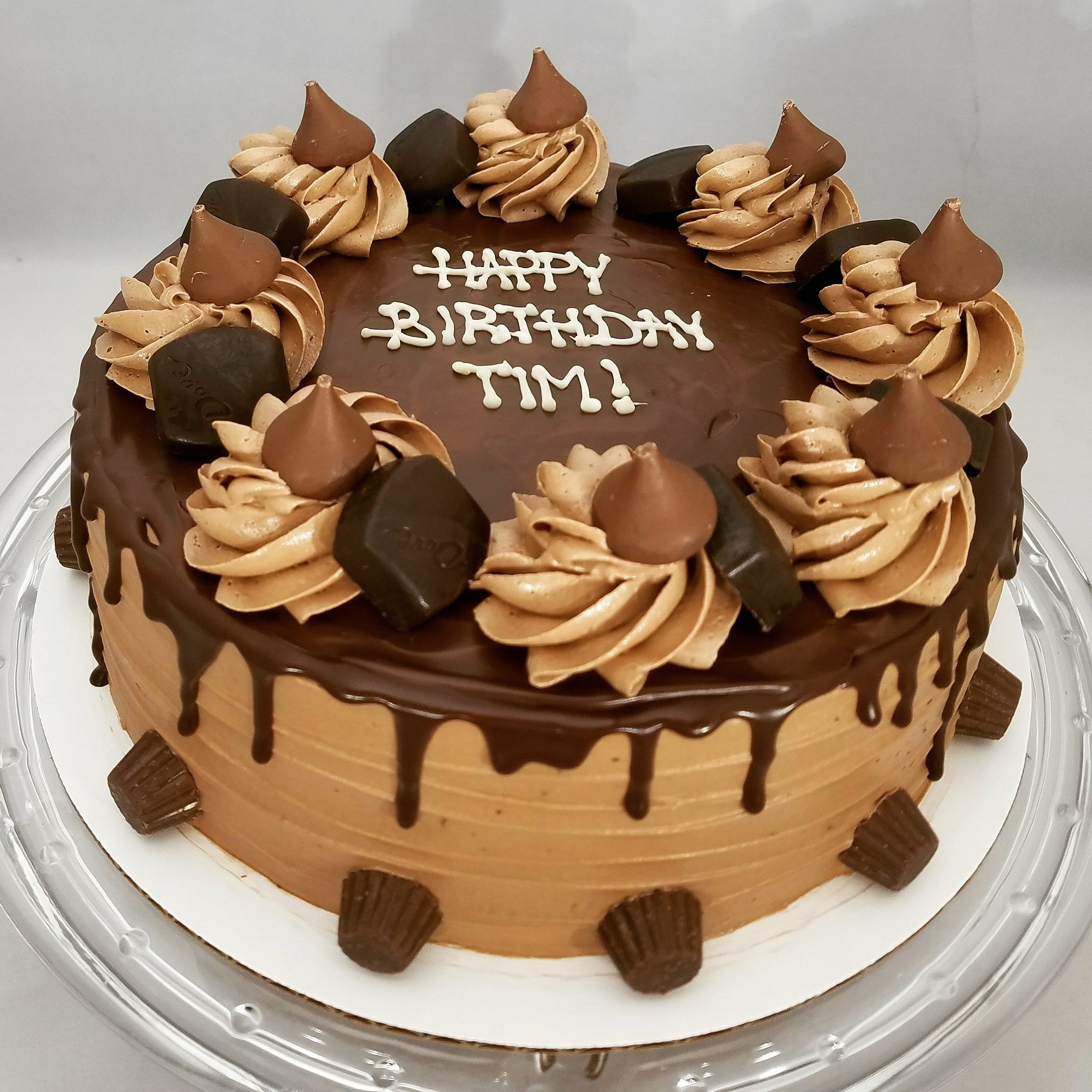 Choclate birthday cake