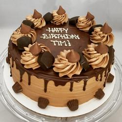 Choclate birthday cake