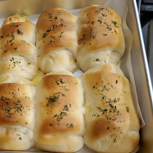 Chicken and Cheese dinner rolls