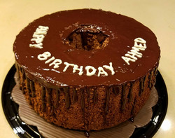 Birthday cake Chocolate Angel Food Cake