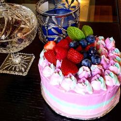 Unicorn Vanilla Cake