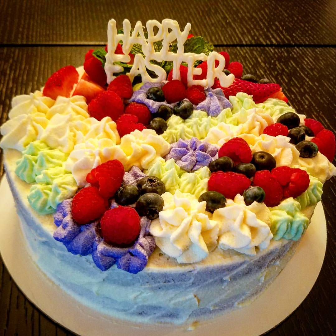 Berry Chantilly Easter