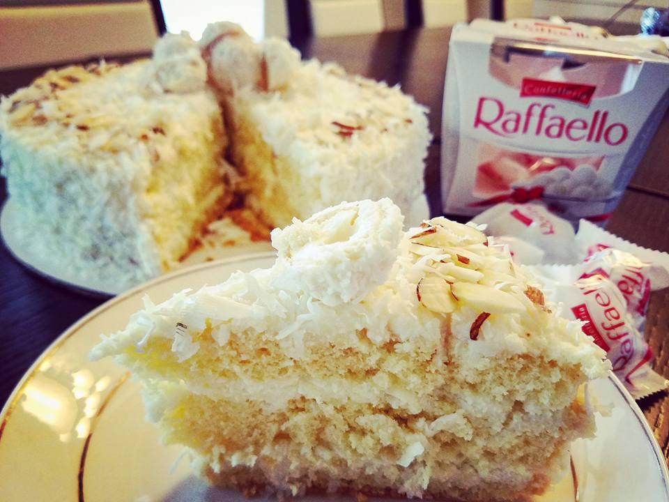 Almond Coconut Cake (Raffaello Cake)