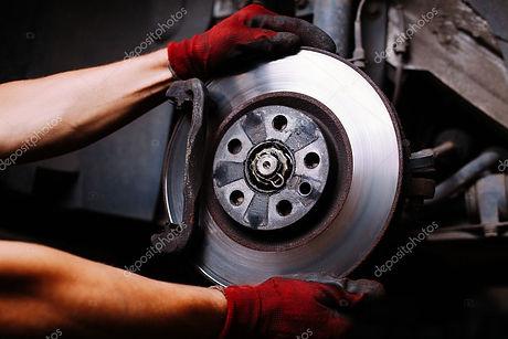 Worn Disc Brake