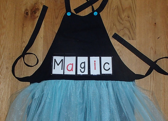 The black one with a blue tutu
