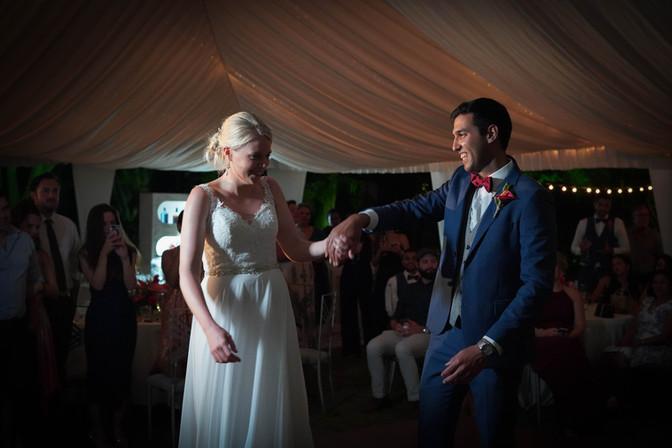 Barbados wedding reception