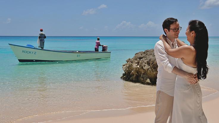 barbados beach wedding photography Peter.
