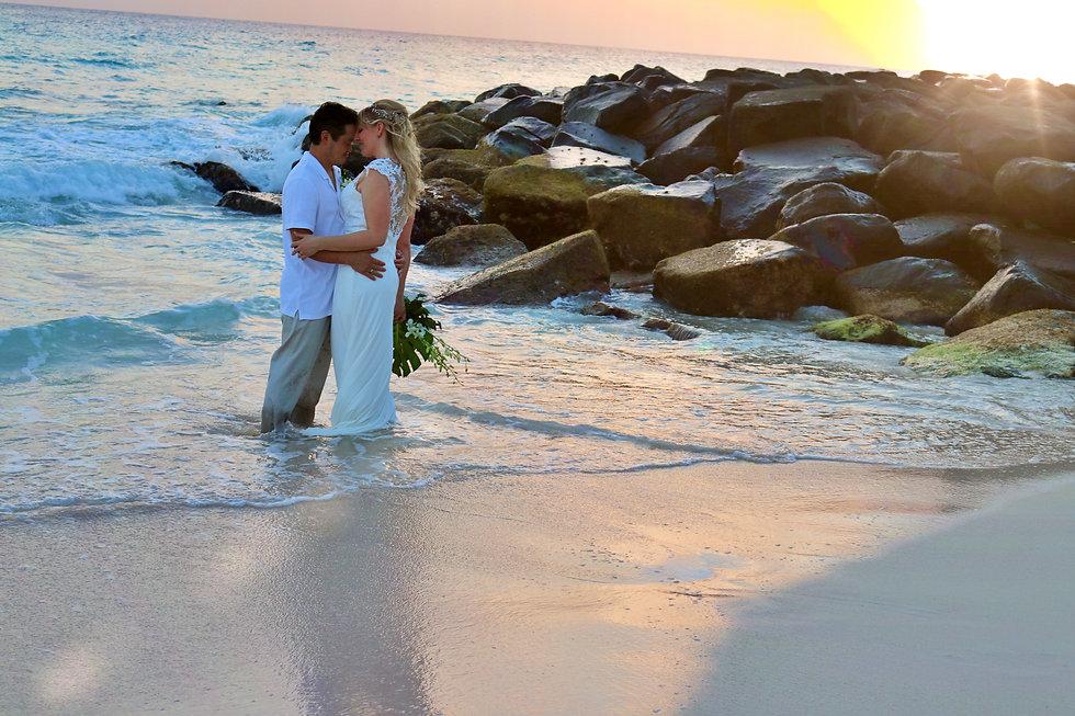 Beach Wedding, Wedding Photgrapher in Barbados, Wedding Videographer in Barbados