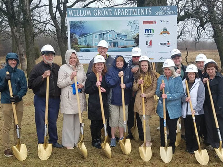 Willow Grove Apartments, Coming Spring 2020 to North Branch!