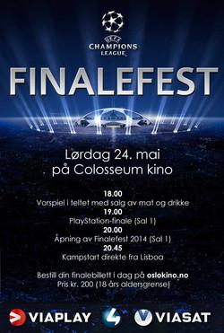 Finalefest: Champions league