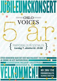 Oslo Voices fyller 5 år!