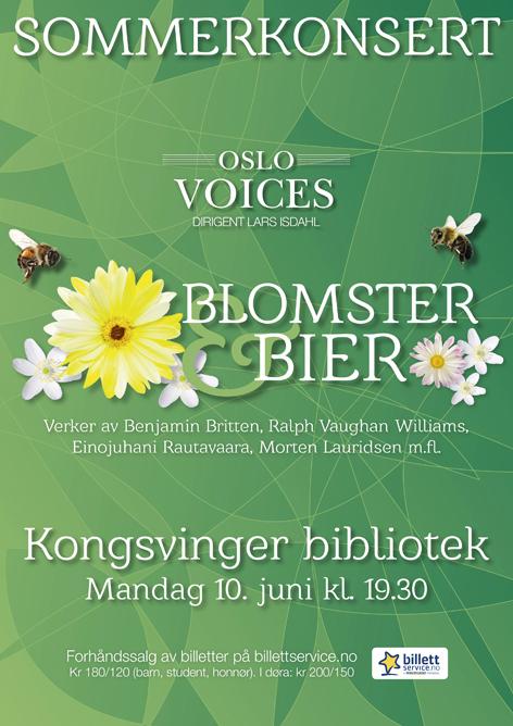 Blomster og bier