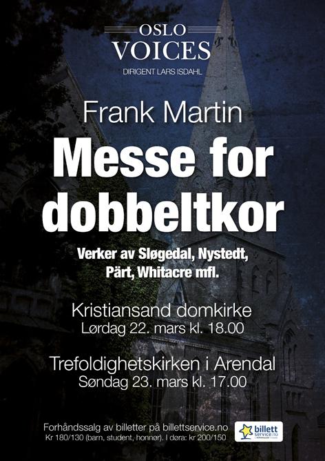Frank Martin: Messe for dobbeltkor