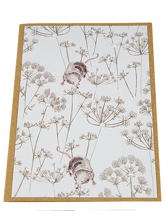 Wildlife Collection Card - Mouse