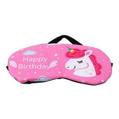 Happy Birthday Unicorn Sleep Mask