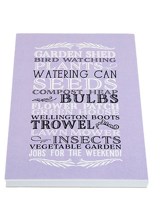 Garden Lover Notebook - Lilac