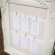 Vinyage Lace Table Plan