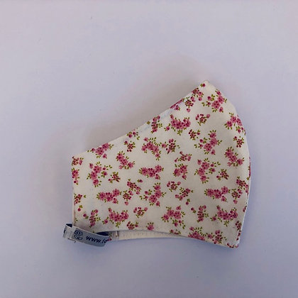 Ditsy Vintage Fabric Face Mask