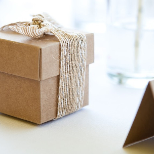 Rustic Favour Boxes