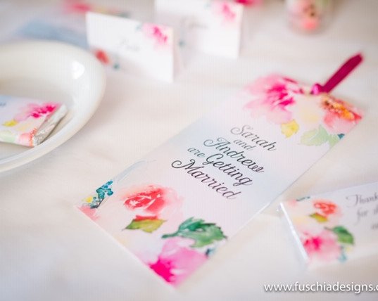 Floral Water Colour Stationery