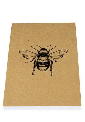 Busy Solo Bee Notebook - Kraft
