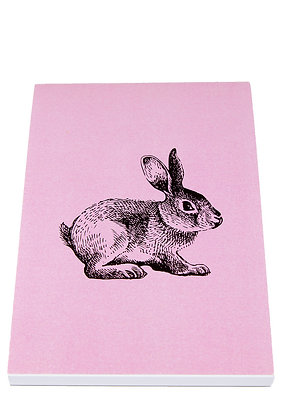 Bunny Notebook - Pink