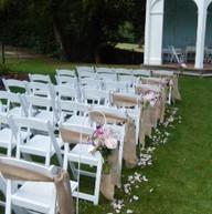 Hessian Chair Sashes