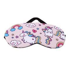 Pink Unicorn Sleep Mask