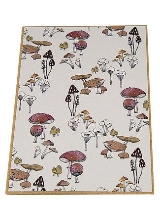 Wildlife Collection Card - Mushroom