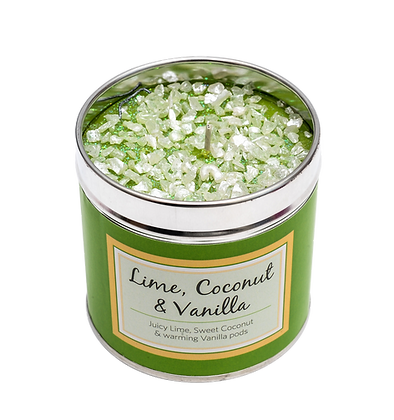 Lime, Coconut & Vanilla Candle Tin