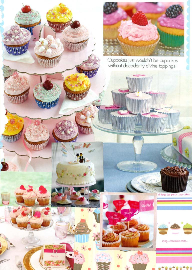 Cupcake Heaven Moodboard