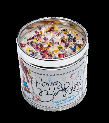 Happy Birthday Candle Tin