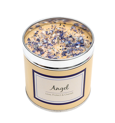 Angel Candle Tin