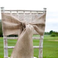 Hessian Chair Sash