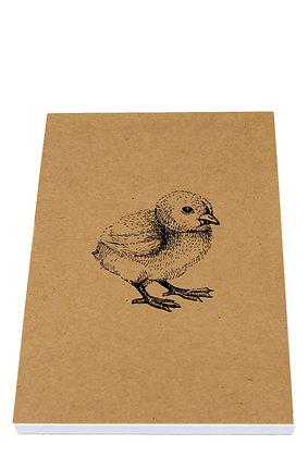 Easter Chick Notebook - Kraft