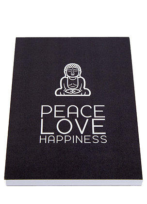 Yoga Lover Notebook - Dark Grey