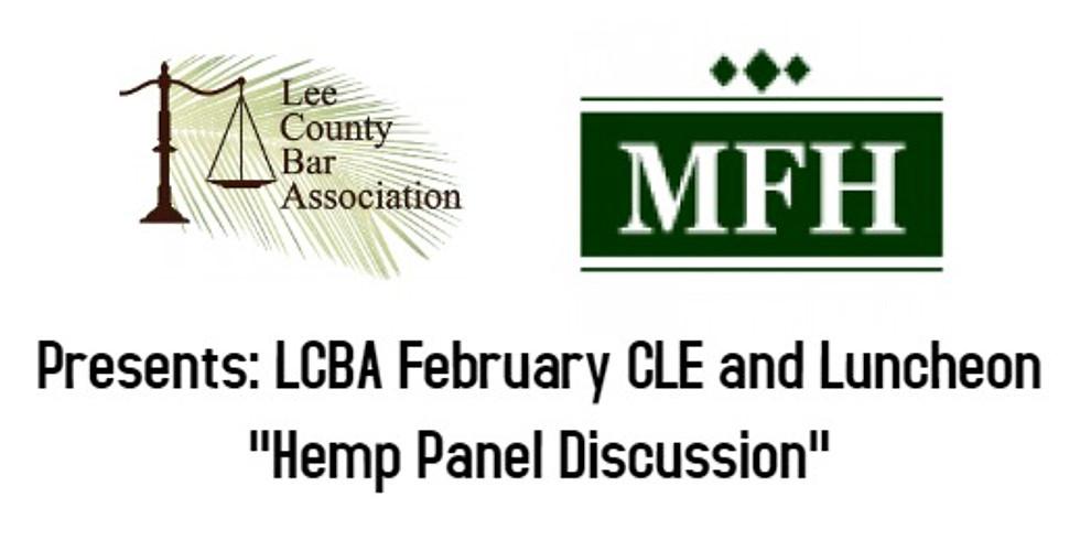 LCBA Luncheon: Hemp Panel