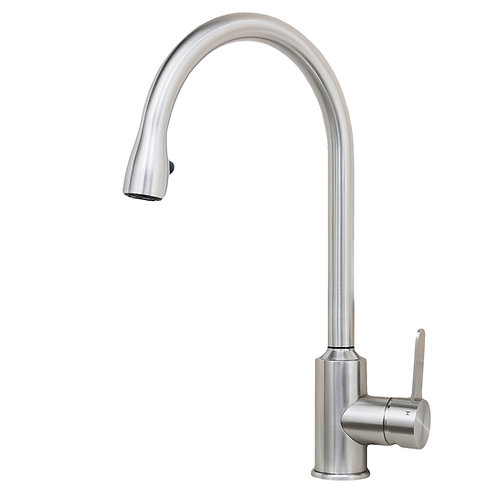 Cario 16-inch All Stainless Steel Lead-Free Pull-Down Kitchen Faucet
