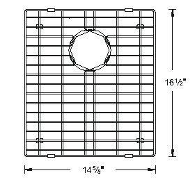 Sink Bottom Grids GCS1517SM