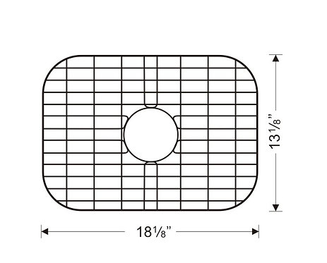 Sink Bottom Grids GWW2014 (G105)
