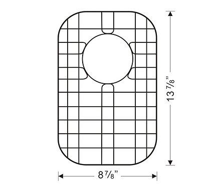 Sink Bottom Grids GWW1015 (G103S)