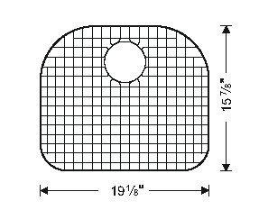 Sink Bottom Grids GWW3118