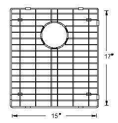 Sink Bottom Grids GCS1517LG