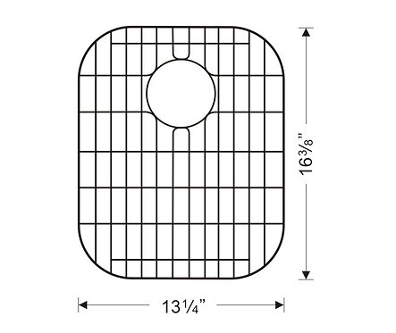 Sink Bottom Grids GWW1518-16 (G101L-16)